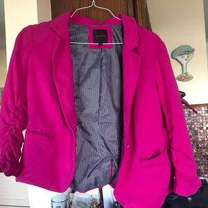 Size large pink blazer from the Limited